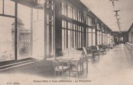 CAUX SUR MONTREUX PALACE HOTEL LE PROMENOIR - Suisse