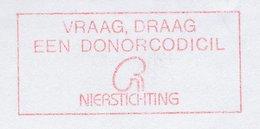 Meter Cut Netherlands 1998 Donor Codicil - Kidney Foundation - Health