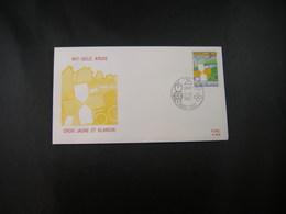 """BELG.1987 2270 FDC (Tielt) : """" Wit-gele Kruis / Croix Jaune Et Blanche 50 """" - FDC"""