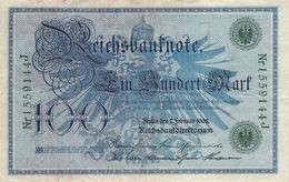 100 Deutsche Reichsmark AU/EF (II) - 100 Mark