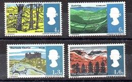 Serie De Gran Bretaña Nº Yvert 437A/40A ** FOSFORO Valor Catálogo 3.0€ - Neufs