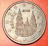 SPAGNA - 2010 - Moneta - Cattedrale Di Santiago De Compostela - Euro - 0.05 - Spagna