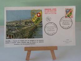Armoiries D'Alger - Alger - 7.3.1959 - Coté 3€ - FDC