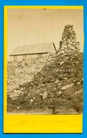 Chamonix 1865 * Pavillon Du Brévent Et Cairn * CDV Photo Albumine Joseph Tairraz - Photographs