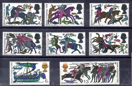 Serie De Gran Bretaña Nº Yvert 453A/60A ** FOSFORO Valor Catálogo 3.2€ - 1952-.... (Elisabeth II.)