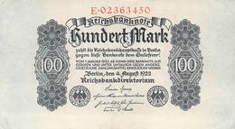 100 Deutsche Reichsmark UNC (I) - [ 3] 1918-1933 : Repubblica  Di Weimar