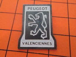 512E PIN'S PINS / Rare Et De Belle Qualité ! / Thème : AUTOMOBILES / GARAGE PEUGEOT VALENCIENNES - Peugeot