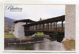 BHUTAN - AK 357851 Traditional Bridge - Butan