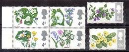Serie De Gran Bretaña Nº Yvert 465A/70A ** FOSFORO Valor Catálogo 2.0€ FLORES (FLOWERS) - 1952-.... (Elisabeth II.)