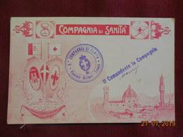 CPA - Croix-Rouge Italienne - Compagnia Di Sanita - Croix-Rouge