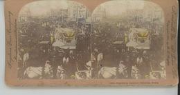 PHOTOS STEREO - U.S.A. - TEXAS - PALESTINE - Pageantry Carnival - Stereoscopic