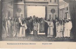 MALONNE /  ST BERTHUIN / ECOLE / THEATRE  1907 - Namur