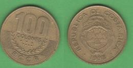 Costa Rica 100 COLONES 1998 - Costa Rica