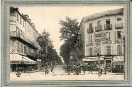 CPA - VICHY (03) - Aspect Du Tabac-Presse Et Du Restaurant Goudron à L'entrée De La Rue De Paris En 1910 - Vichy