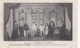 MALONNE /  ST BERTHUIN / ECOLE  / THEATRE EN 1914 - Namur