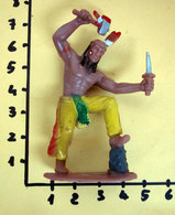 INDIANO WEST SOLDATINO PLASTICA MORBIDA - Figurines