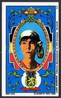 BBM Card / ROYALTY / Belgium / Belgique / België / Reine Elisabeth / Koningin Elisabeth / 2 Scans - Autres Collections