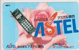 TELEPHONE - JAPAN - H066 - ASTEL - ROSE - Telefoni