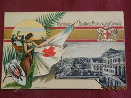 CPA - Croix-Rouge Italienne - Ospedale Militare Principale Di Genova - Croix-Rouge