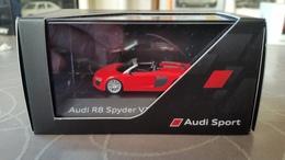 Herpa Audi R8 Spyder V10 Dynamite Red 1:87 - Cars & 4-wheels