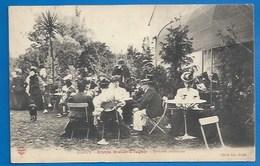 54 - NANCY - GRANDE BRASSERIE VAGNER - LA TERRASSE INTÉRIEURE ACHALANDÉE - 1907 - Nancy