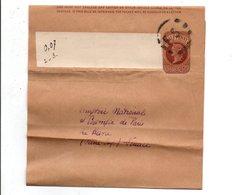 GB ENTIER BANDE JOURNAL POUR LA FRANCE - Postmark Collection