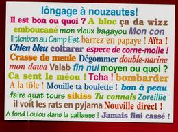 CP Nouvelle Calédonie Lôngage à Nouzautes ! Langage Langue Idiome ... Photo Mike Hosken Ed Footprint Pacifique 1992 - Nouvelle Calédonie