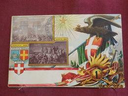 CPA - Croix-Rouge Italienne - Perugia 1860 - Gaeta 1861 - Croix-Rouge