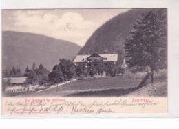 Bad Bachgart Bei Muhlbach   Viaggiata 1902 Con Timbro Di Collettoria K411 - Other Cities