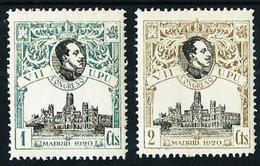 España Nº 297N/8N (Muestra-ceros Al Dorso) Nuevo Cat.318€ - Unused Stamps