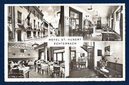 Luxembourg. Echternach. Hôtel Saint-Hubert. Façade, Café, Salle à Manger, Hall.(Propr. J.P. De Bourcy-Kirchen) - Echternach