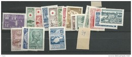 1949 MNH Finland, Finnland, Year Complete According To Michel, Postfris - Finland