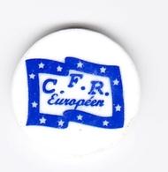 Jeton De Caddie En Plastique - Centre De Formation Routière C.F.R. Européen - Einkaufswagen-Chips (EKW)