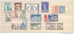 1956 MNH Finland, Finnland, Year Complete According To Michel, Postfris - Finland