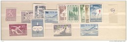 1959 MNH Finland, Finnland, Year Complete According To Michel, Postfris - Finland
