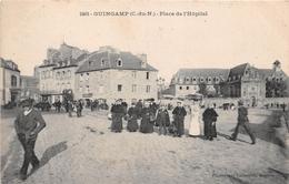 ¤¤   -  GUINGAMP   -    Place De L'Hopital   -   ¤¤ - Guingamp