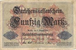 50 Mark Reichsbanknote VF/F (III) - [ 2] 1871-1918 : Duitse Rijk
