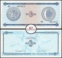Cuba | 3 Pesos | 1985 | P.FX.12 | UNC - Cuba