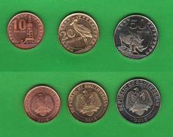 Sud Sudan 10 + 20 + 50 Piastres 2015 South Sudan Soudan Dou Sud - Coins
