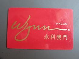 Wynn Macau - Casinokarten