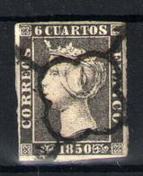 España  Nº 1A. Año Nº 1850 - 1850-68 Kingdom: Isabella II