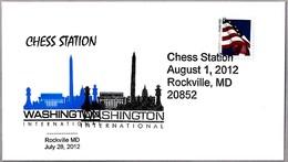 CHESS - WASHINGTON INTERNATIONAL - AJEDREZ. Rockville MD 2012 - Ajedrez