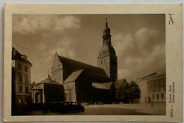 1942 Postcards LATVIJA DOMA BAZNICA - Latvia