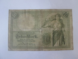 Germany 10 Mark 1906 Banknote - [ 2] 1871-1918 : Duitse Rijk