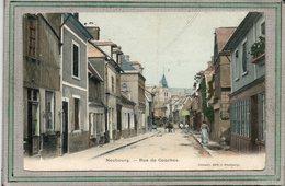 CPA - NEUBOURG (27) - Aspect De La Rue De Conches En 1907 - Carte Colorisée - Otros Municipios