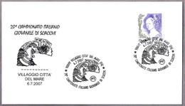 20 CAMP. DE ITALIA  JUVENIL DE AJEDREZ - Italian Youth Chess Championship. Villaggio Citta' Del Mare, Palermo, 2007 - Ajedrez