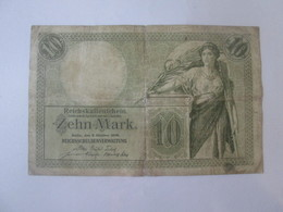 Germany 10 Mark 1906 Banknote - [ 2] 1871-1918 : Impero Tedesco