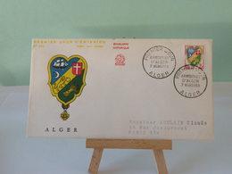 Armoiries D'Alger - Alger - 7.3.1959 -(Numismatique Française)- Coté 2€ - FDC