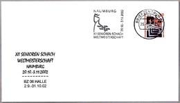 Camp.Mundo SENIOR DE AJEDREZ - XII Senioren Schach Weltmeisterschaft NAUMBURG. BZ 06 2002 - Ajedrez