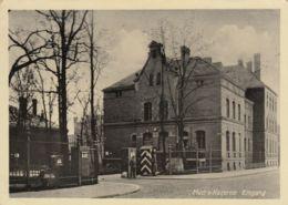 AK - Magdeburg Stabsgebäude Mudra - Kaserne, Eingang 1941 - Magdeburg